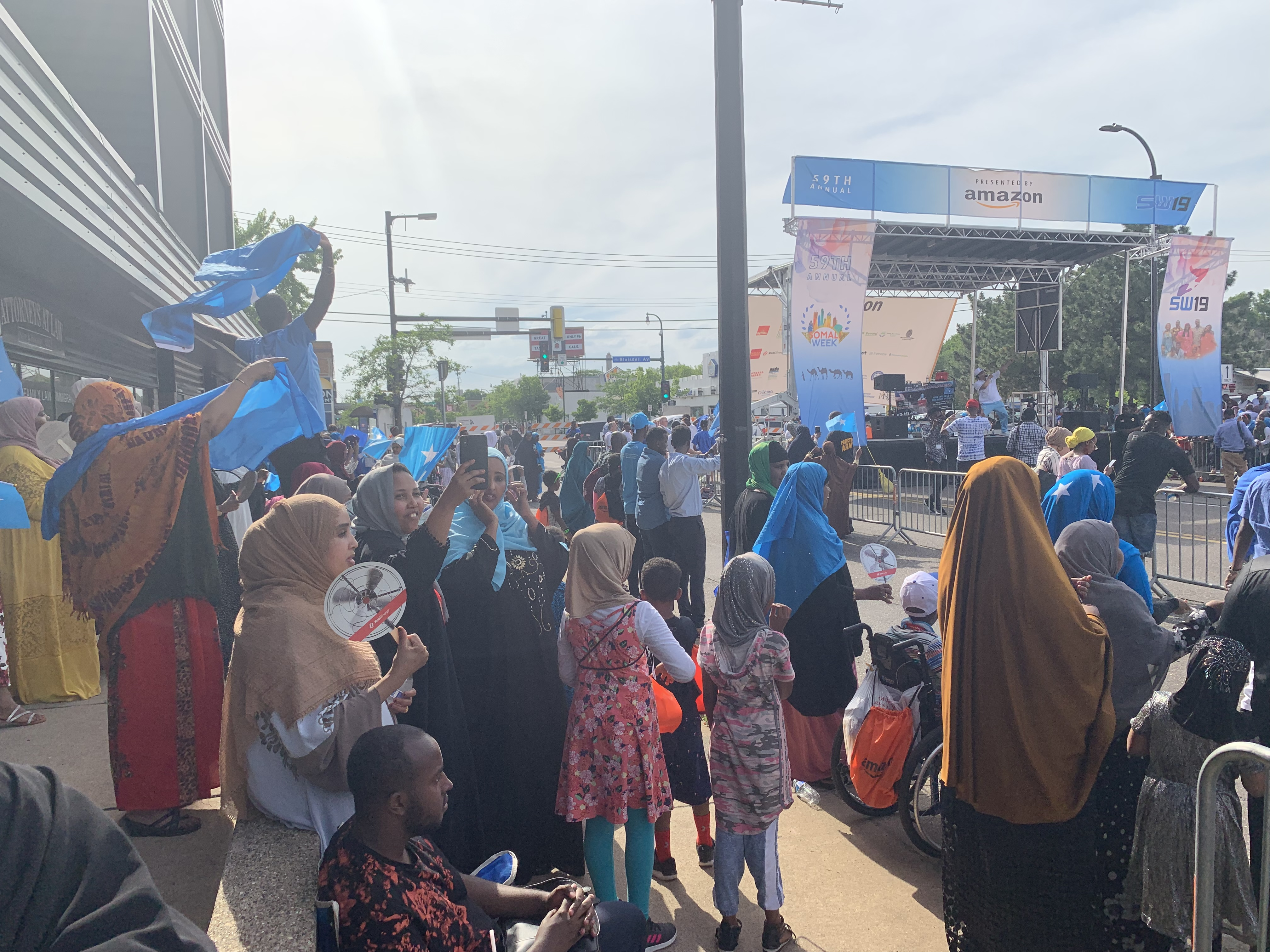 Somali and Somali-Americans celebrated Somali Independence Day